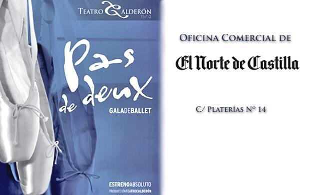 Entradas ballet Pas de Deux por 12€