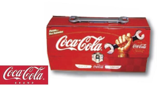 Caja de herramientas retro Coca Cola 12€