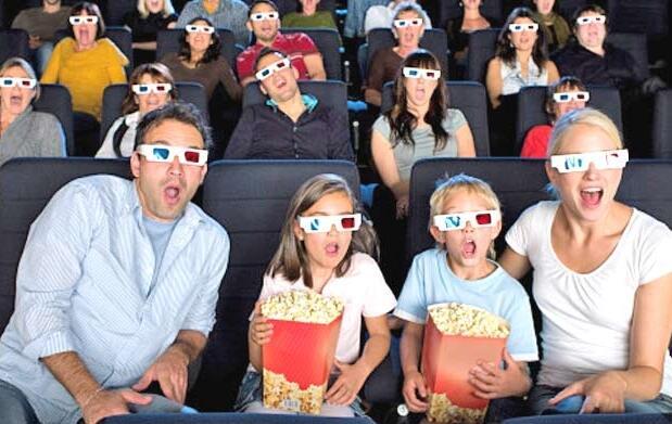 Entrada de cine, incluido 3D por 4€