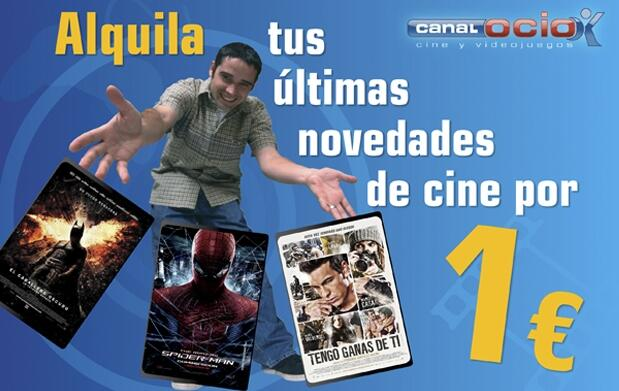 Alquiler de 10 películas por 10€
