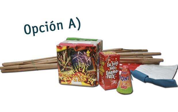 Colección de fuegos artificiales por 25€