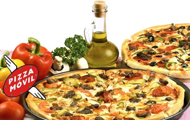 Todas las pizzas para 2 con entrantes 12€
