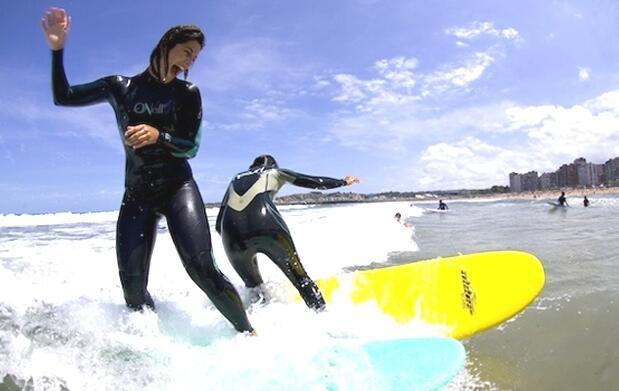 Curso intensivo de surf Gijón-Llanes 75€