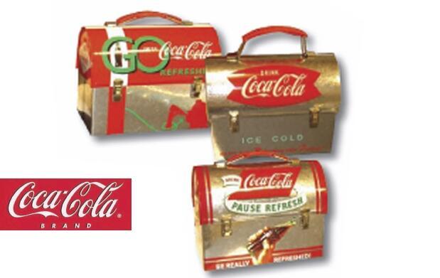 Tartera metálica Coca Cola vintage por 8€