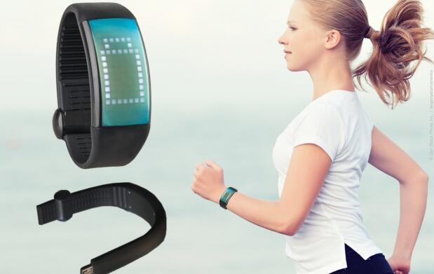 Reloj Podómetro cuenta calorías USB 34€
