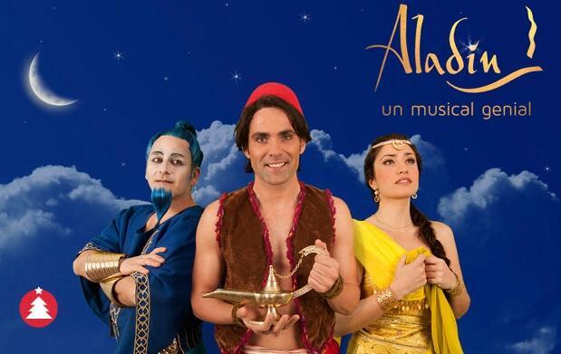 Aladín, un musical genial por 8€