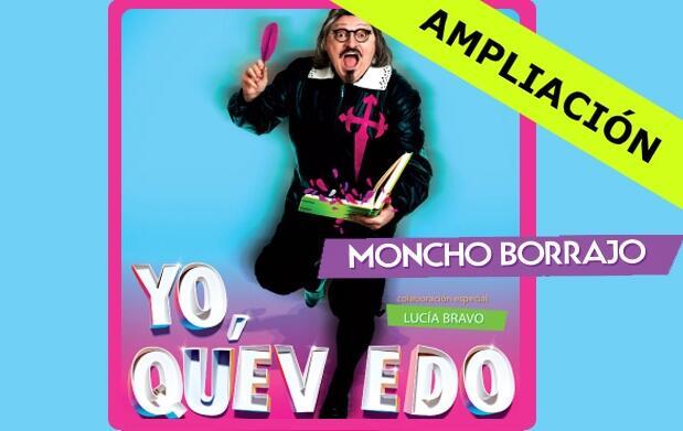 'Yo, Quevedo' con Moncho Borrajo 12€