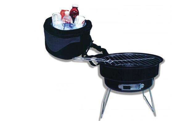 Barbacoa y funda nevera 19,90€
