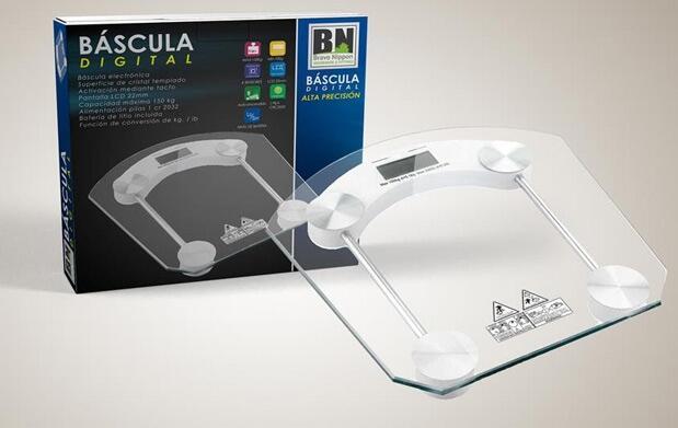 Báscula de baño digital