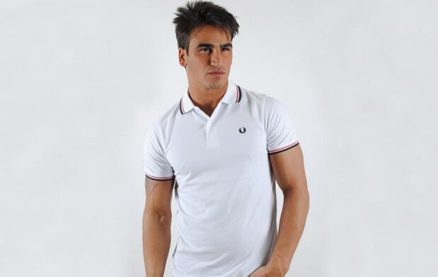 Polo Fred Perry Blanco 37€