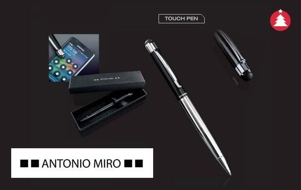 Bolígrafo metálico de Antonio Miró 4,90€