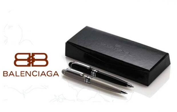 Set 2 bolígrafos marca BALENCIAGA