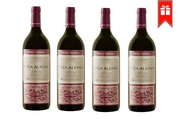 6 botellas MAGNUM  de Viña Albina