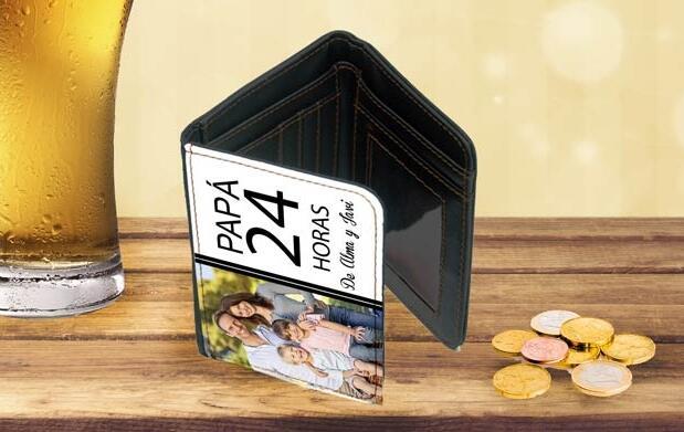 Cartera personalizada Día del Padre 9,90€