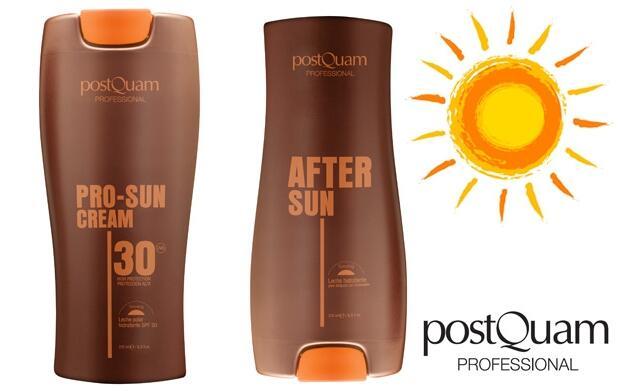 Leche solar y after sun de 250 ml. 9,85€