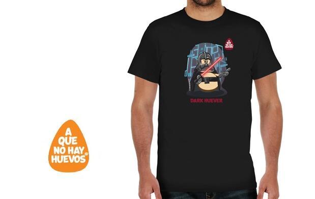 Camiseta chico Dark Huever  por 9,95€