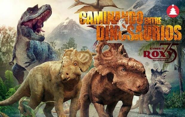 Cine 3D 'Caminando entre dinosaurios' 4€