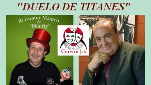 Duelo de titanes con magia y humor en el Teatro Cervantes