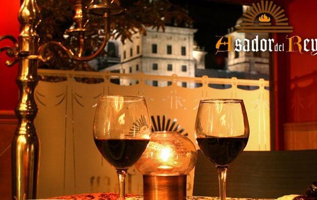 El Escorial: cena y noche para 2 por 89€