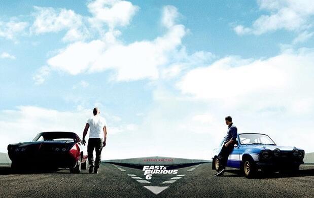 Cine: Fast & Furious 6 + refresco por 5 €