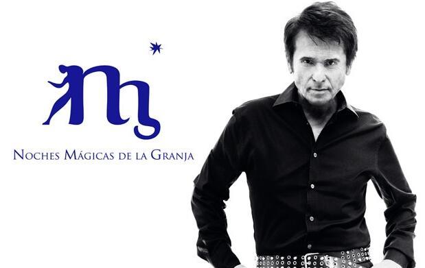 Concierto Raphael en La Granja+Cena 65€
