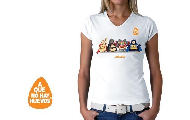 Camiseta chica ¿Juegas? por 9,95€