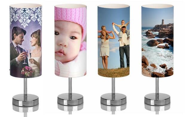Lámpara  táctil personalizada19€
