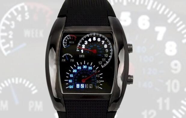 Reloj LED por 18€