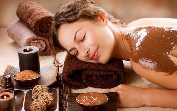 Masaje de espalda con chocolate 19,90€