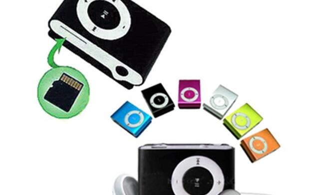 Reproductor MP3 shuffle 11€