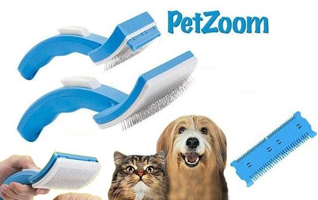 Cepillo para mascotas PetZoom 5,95€