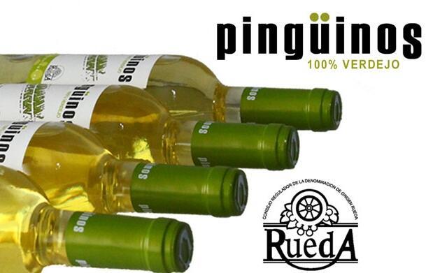 Botella Pingüinos Verdejo de Rueda 3,60€