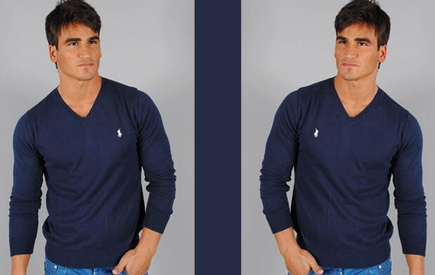 Jersey fino Ralph Lauren Azul Marino 46€