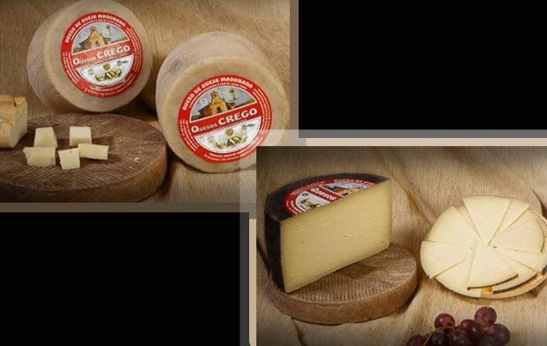 2 cuñas de queso de oveja Crego 7€