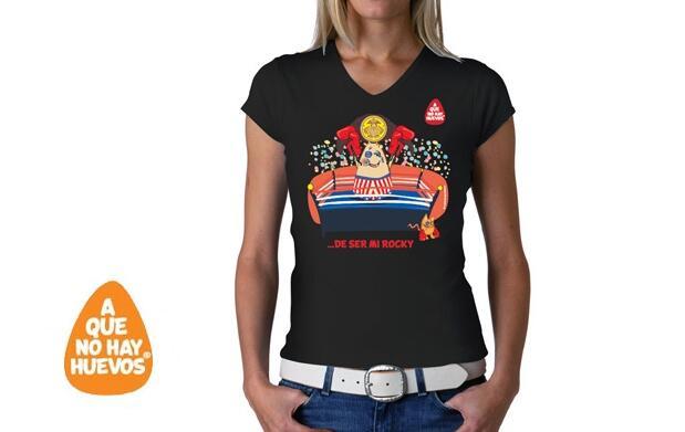 Camiseta chica Rocky  por 9,95€