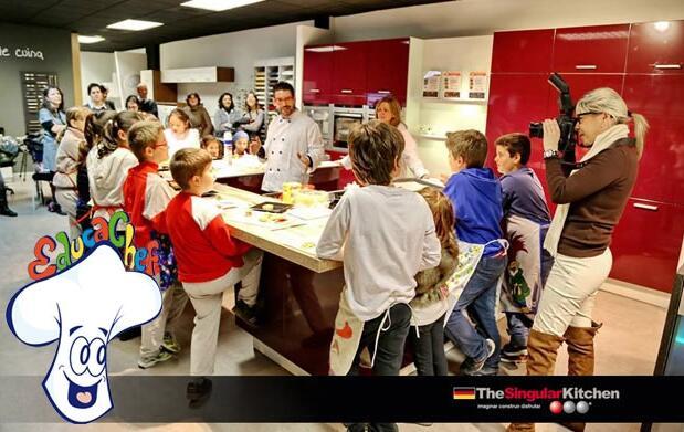 Curso de cocina para niños por 14€