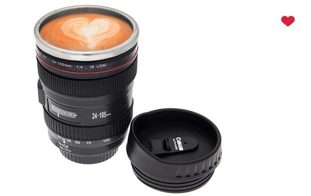 Taza-cámara para el café por 8€