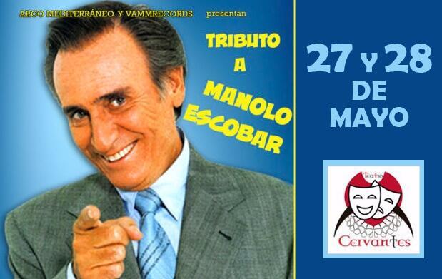 Tributo a Manolo Escobar en el Teatro Cervantes