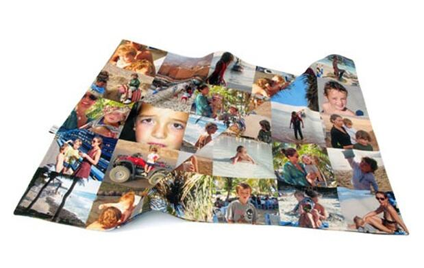 Manta personalizada con tus fotos 19€