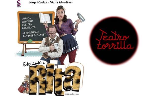 Educando a Rita en Teatro Zorrilla 15€