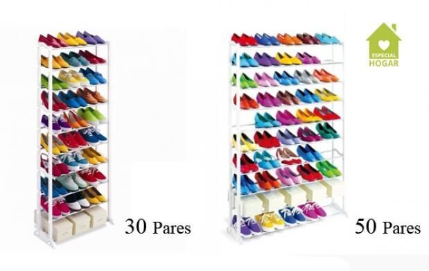 Zapatero con capacidad de 30 o 50 pares