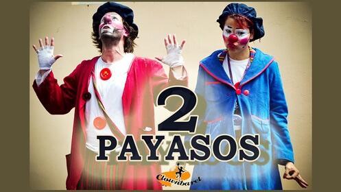 Espectáculo '2 Payasos, Clownbaret' en el Teatro Cervantes