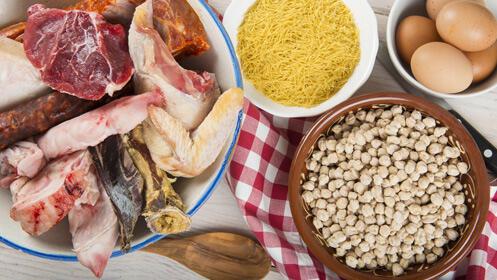 Cocido castellano completo ¡precio para dos 12€!