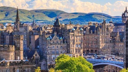 2 o 3 noches en Edimburgo – Hotel y vuelos directos incluidos