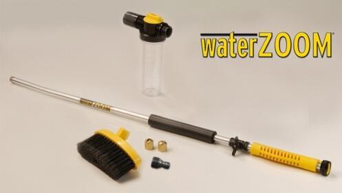 Water Zoom: Pistola de agua a presión