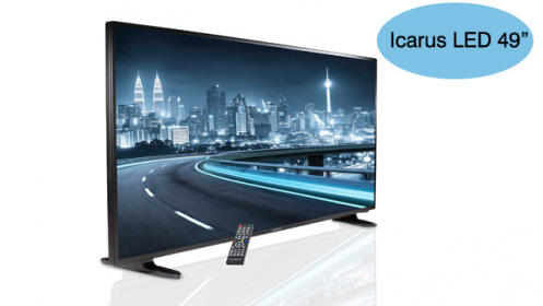Televisión LED SMART TV 49´´ Icarus