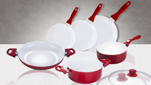 Set Batería de Cocina 8 Piezas