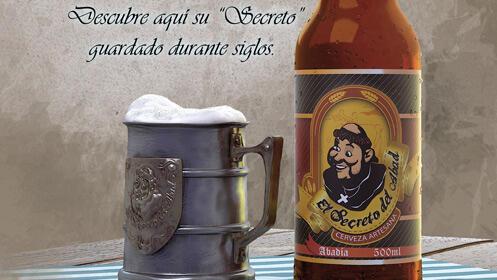 Visita guiada y cata de cerveza El Secreto del Abad