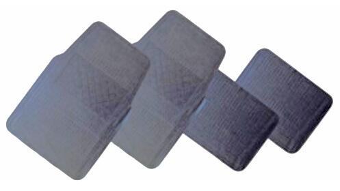 Alfombrillas para coche en PVC antideslizante