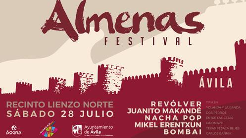 'Almenas Festival' con Mikel Erentxun, Revólver y más